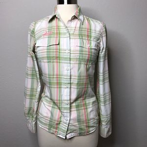 Patagonia Womens 4 Small Button Up Shirt